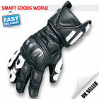 Top Quality Genuine Leather Motorbike Motorcycle Gloves with Knuckle Protections