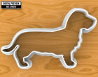 Longhaired Dachshund Dog Cookie Cutter, Selectable sizes