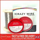 The Crazy Wire Company's Premium Ni80  (Nichrome - NiCr 80/20) Wire - FULL RANGE