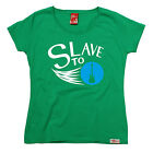 Slave To Guitar WOMENS Banned Member T-SHIRT birthday electric bass acoustic