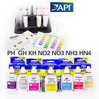 API water test kit PH NO2 NO3 Ca PO4 NH3 NH4 GH KH aquarium fish tank