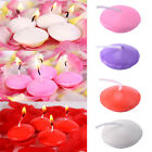 10PCS Floating Candles Round Small Unscented Party Wedding Decoration Candles