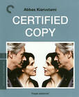 Certified Copy (Blu-ray Disc, 2012, Criterion Collection)