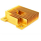 MK7/MK8 Heat Sink 40mm*40mm*11mm For 3D Printer MakerBot Extruder Golden/Black