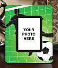"3.5""x5"" PHOTO FRAME - SOCCER 4 Athlete Ball Game Team Coach Sports Goal Gift"