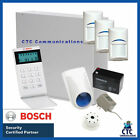 Bosch Solution 2000 Alarm System With 3 X Gen 2 StandardDetectors+ Icon Code Pad