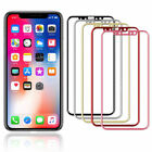 Full Cover Tempered Glass Screen Protector Film For Apple iPhone...