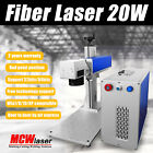 MCWlaser 20W MOPA Fiber Laser Marking Machine & Rotary Aluminum Black Color