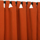 Hatteras Hammocks Sunbrella Outdoor Canvas Curtain with Tab Top