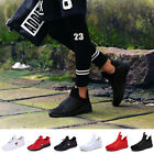 New Korean Mens Casual Flats Shoes Running Sports Breathable High Tops Sneakers