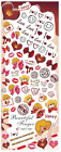 Nail Art Stickers Transfers Decals HOT Series Valentines Love Bears 061-063