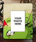 "3.5""x5"" PHOTO FRAME - GOLF 7 Golfer Swing Par Athlete Ball Game Sports Gift"