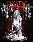 Cannibal Corpse T-Shirt Butchered At Birth death metal rock Official M Last NWT