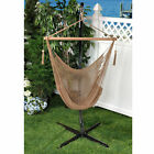 Bliss Hammocks Solid Island Rope Hammock Chair