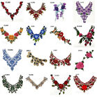 3D Venise Floral Guipure Collar Lace Trim Embroidered Neck Applique Sewing Craft