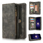 Multifunction Leather Case Card Slots Detachable Back Cover for Galaxy S8 / Plus