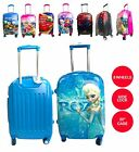 """New Character Design Boys & Girls 20"""" Trolley Suitcase backpack Luggage 8 Wheels"""