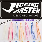 JIGGING MASTER RUBBER HOLLOW SQUID FOR ASSIST HOOKS