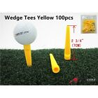 A99 Golf Yellow Wedge Tee available in 50 to 100pcs