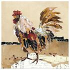 Poster Print Wall Art entitled Country Rooster II