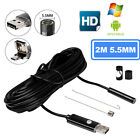 WiFI 6LED Waterproof Borescope Inspection Endoscope Snake Tube Camera For iPhone