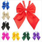 TopTie Womens Ladies Fashion Pre-Tied Bow Ties Solid Color Bowknot Neckwear