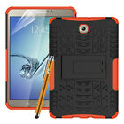 Heavy Duty Tough ShockProof Stand Case Cover For Various Samsung Galaxy Tablets
