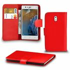 Premium Leather Wallet Case Cover For Nokia 3 Screen Protector