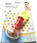NEW  First Steps - Rattle Teether - Playtime Fun - Baby Care  - 6 MONTHS +