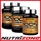 SCITEC NUTRITION 100% Creatine Monohydrate Powder 100/300/500/1000g +FREE SAMPLE