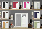 1PC ELEGANT ROLL UP LINED BLACKOUT WINDOW CURTAIN FRENCH DOOR NEW PANEL Gaby