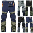 Fashion Mens Sports Outdoor Hiking Climbing Combat Trousers Tactical Cargo Pants