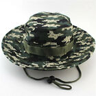 Bucket Hat Wide Brim Fishing Hunting camping hiking Boonie Cap Military Camo hat
