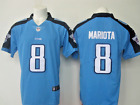 MARCUS MARIOTA 8 AUTHENTIC TENNESSEE TITANS NIKE NFL ON FIELD JERSEY MENS S 4XL