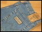 "MENS WRANGLER TEXAS STYLE STRETCH DENIM JEAN REGULAR FIT STONEWASH BLUE 30""WAIST"