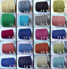 *FREE SHIP* NEW COLORS of 6/2 Quality Soft Cotton Cone Yarn Knit Weave Crochet