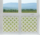 Etched Glass Window Film FROSTED EFFECT Daisy modern contempory shop nursery