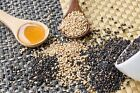 100g/200g Sesame Seeds Natural Hulled Black Grade A Premium Quality