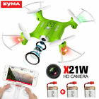 Syma X21W FPV WIFI Real Time RC Drone with HD Camera 2.4G 4CH Gyro RC Quadcopter