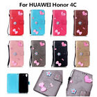 Nice Wallet Phone Case Beautiful Protector Stand Cover For HUAWEI Honor 4C