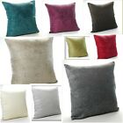 Plain Chenille Cushion Covers 16in x16in or Large 20x20in