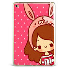 Cartoon Rabbit Cute Animals Soft Silicone Case Cover For Samsung iPad A08D25-7