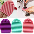 Внешний вид - Silicone Makeup Brush Cleaner Glove Egg Scrubber Cosmetic Cleaning Board Pad Mat