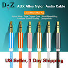 LOT 1M 3.5mm Auxiliary Aux Male to Male Stereo Audio Cable Cord iPod Car iPhone