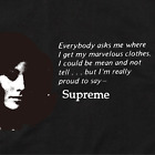 Supreme SS17 Mean Tee Shirt Box Logo Sade Elephant Undercover Betty BOOP Berry L $116.67 CAD