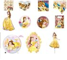 New Beauty And The Beast Princess Party Decorations Tableware Party Supplies
