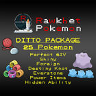 Pokemon Ultra/Sun/Moon Trade Guide: Ditto Package 25x, 6IV, Items, Shiny, JPN