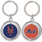 MLB Spinning Logo Key Ring Keychain Forever Collectibles -Select- Team Below