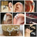 Rhinestone Crystal  Ear Cuffs,  Many Stunning  Designs for all events (JECe20)