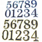 "Alphabets Numbers Sticker Door # Adhesive Shop 5cm 2"" Tall Stickers Silver Black"